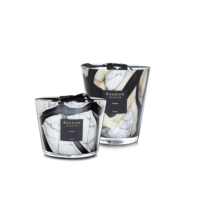 Baobab Candles Stones Marble