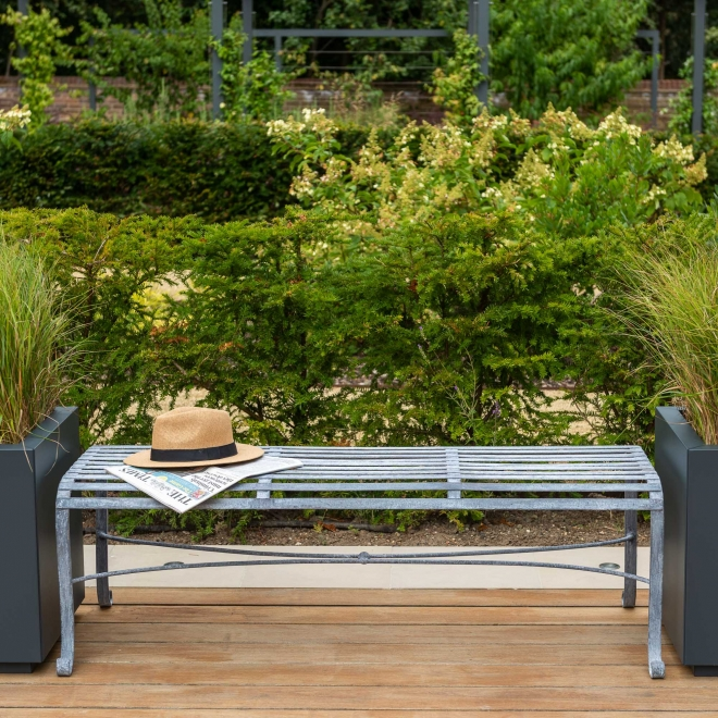 3-seater Backless Garden Dining Bench