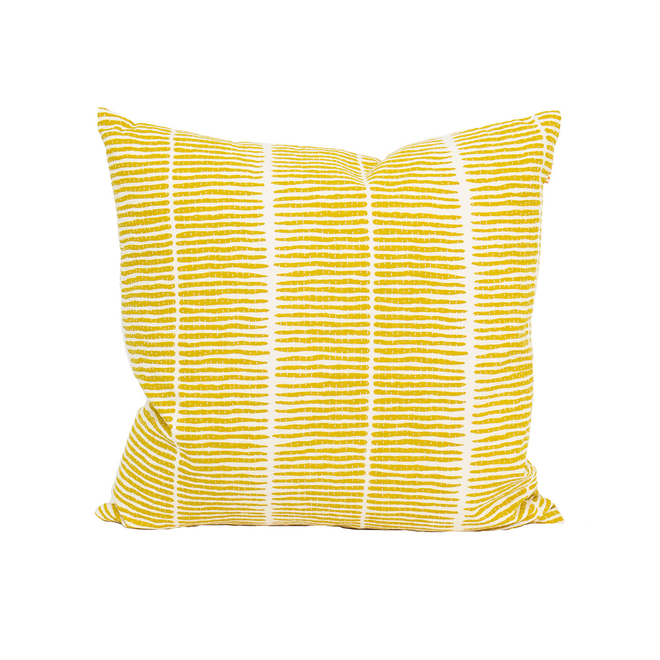 Lemongrass Cushion Yellow