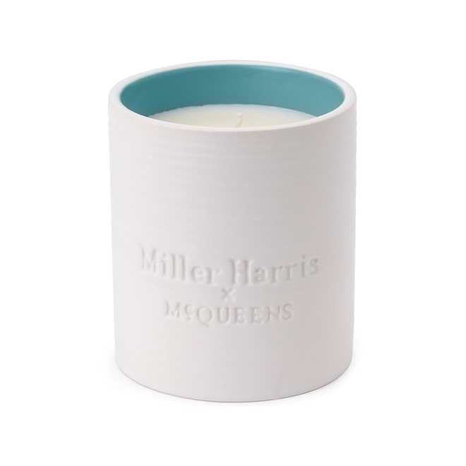 Miller Harris x McQueens Candle Water Wood