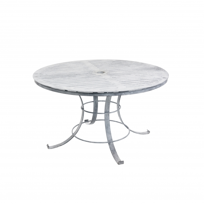 Round Garden Dining Table