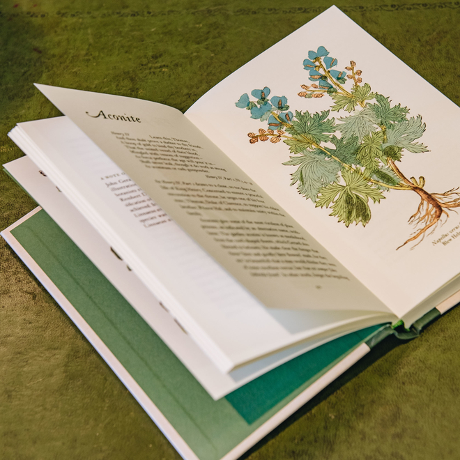 A Shakespearean Botanical (view of spread)