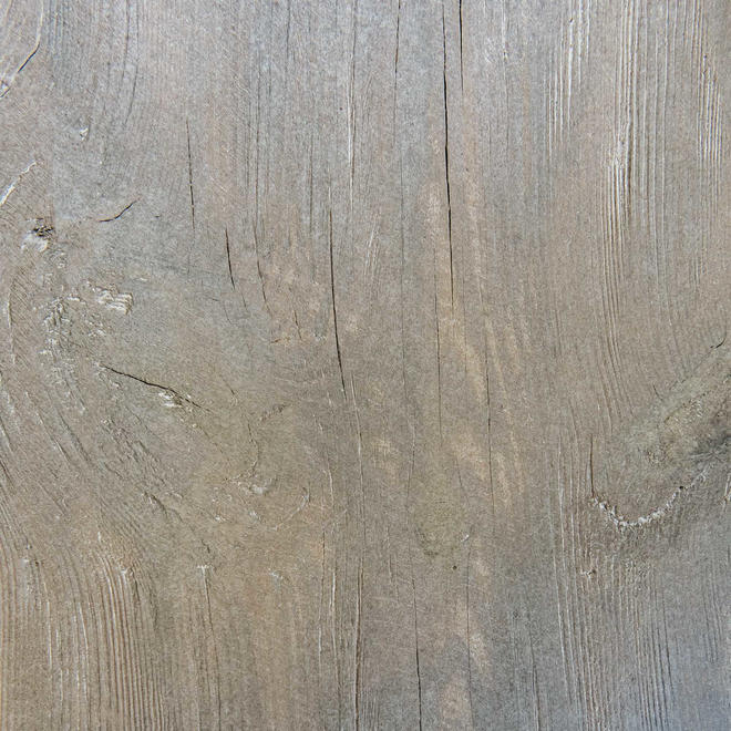 Clovelly Rustic Pine Bench seat surface detail