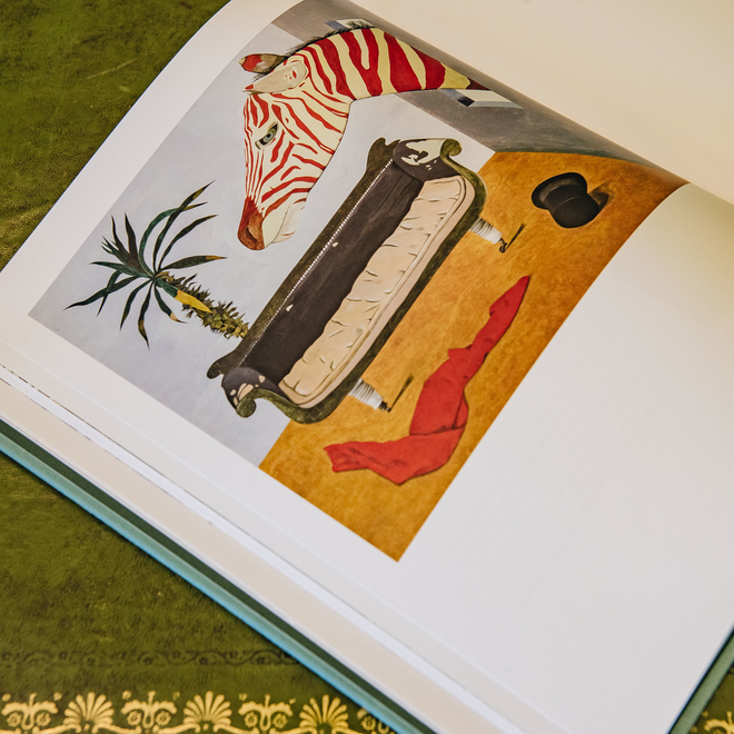 Lucian Freud Herbarium, showing illustration page