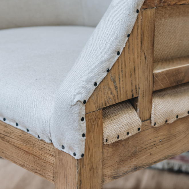 St James Deconstructed Oak Carver Chair