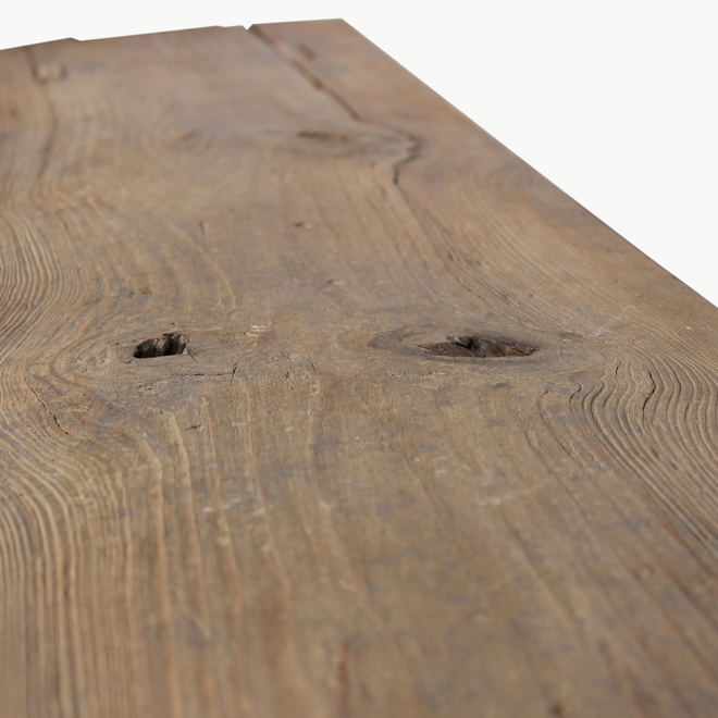 Clovelly Rustic Pine Bench
