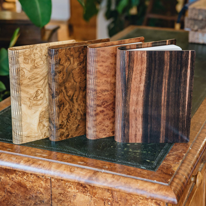 Wooden Cover A5 Notebook