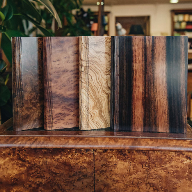 Wooden Cover B5 Notebooks