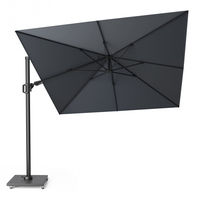 Challenger Anthracite Square Free Arm Parasol