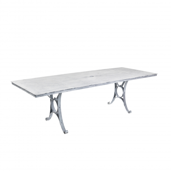 240cm Rectangular Garden Table