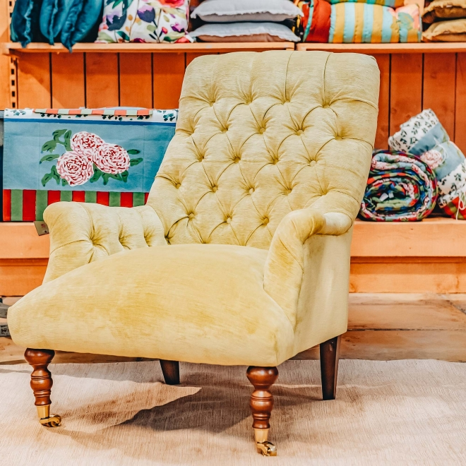 Carnaby Armchair Minton Quince