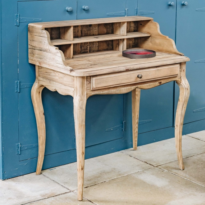 Woodcroft Reclaimed Pine Writing Desk