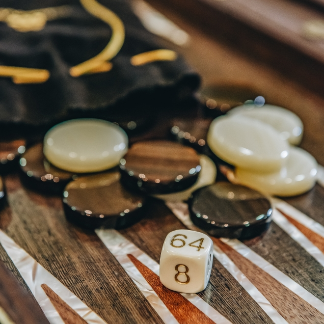 Backgammon Game Pieces