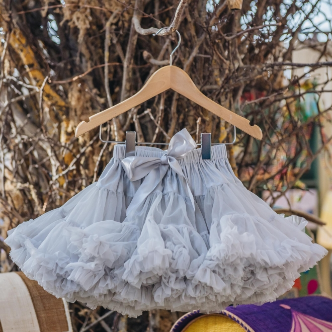 Children's Tutu, Pale Grey