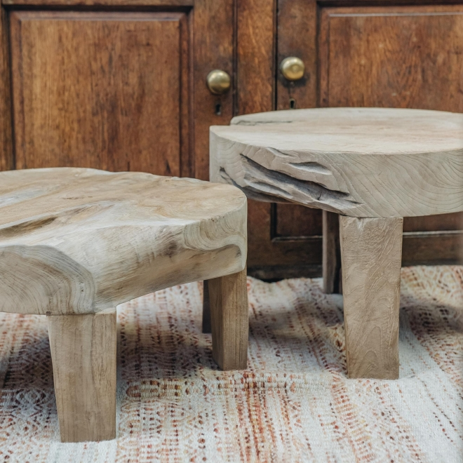 Samba Teak Root Low Tables