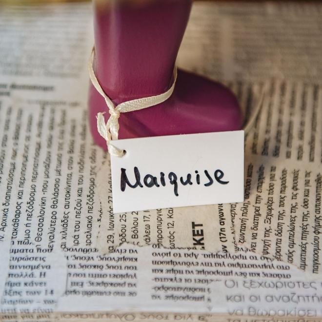 Marquise Table Lamp, detail of base
