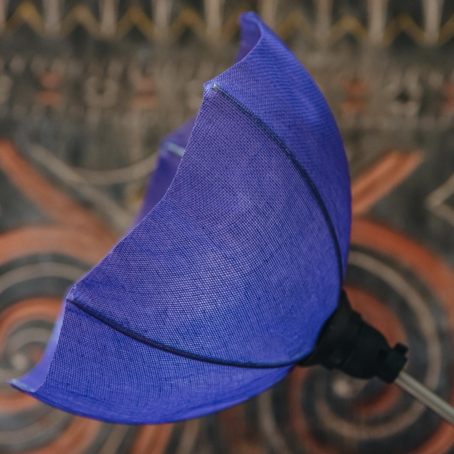 Marquise Table Lamp, detail of umbrella