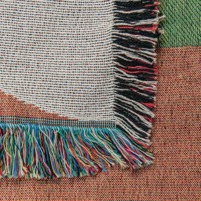 Sundown Throw - detail