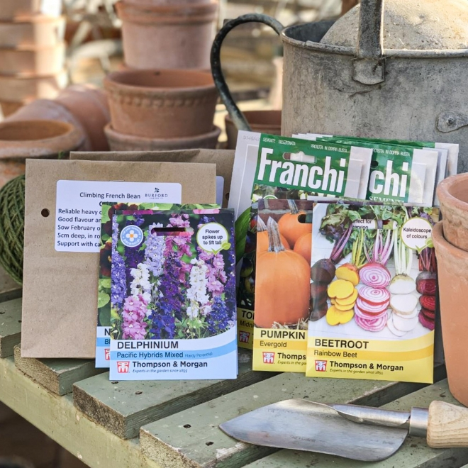 Burford's 'Sowing for the Season' Seed bundle