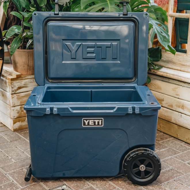 Yeti Tundra Cooler Haul, open