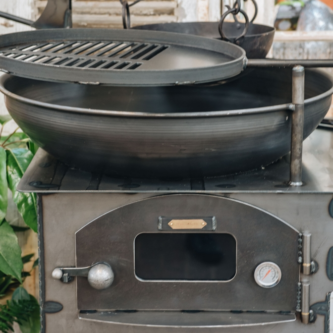 Modular Complete Outdoor Kitchen - pizza oven