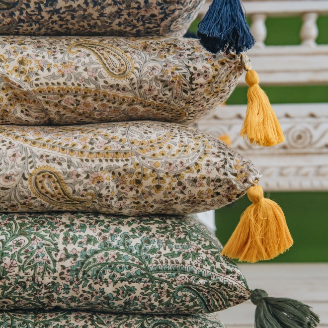 Swedish Paisley Mattresses from Burford Garden Company