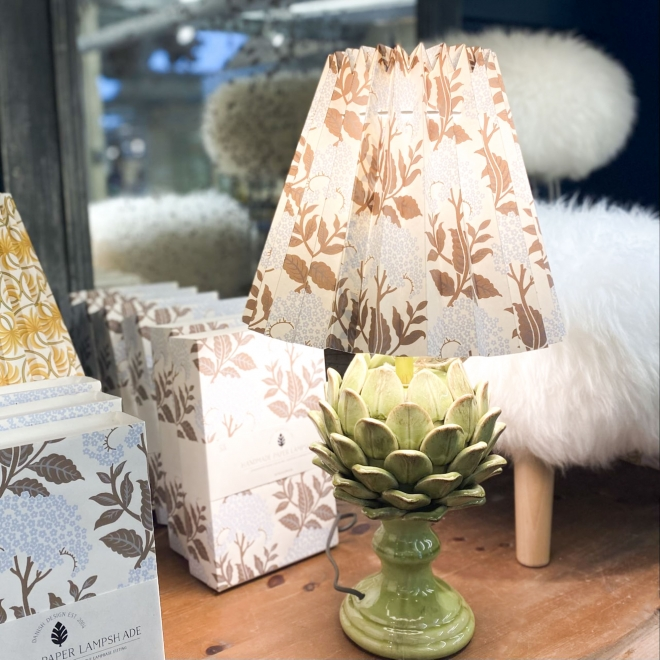 Fold Out Printed Lampshades (base not included)