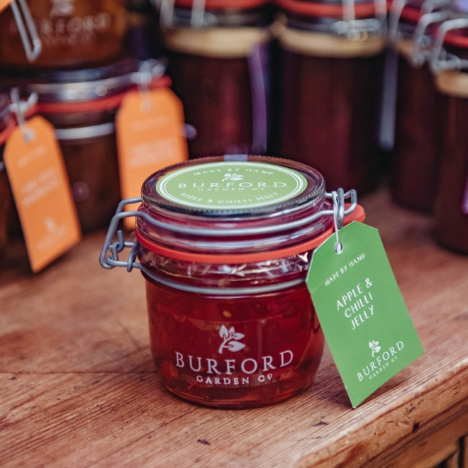 Burford Apple and Chilli Jelly