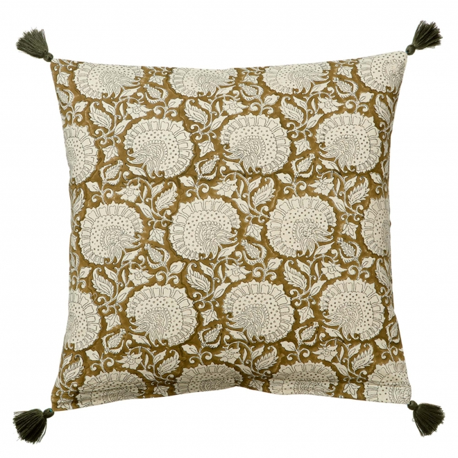 Shimla Olive Cushion