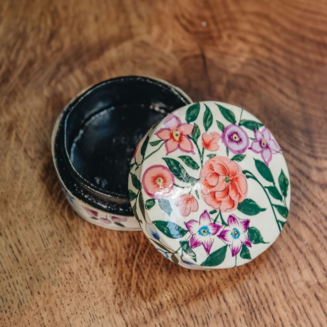 Floral Decoration Boxes (extra small) open
