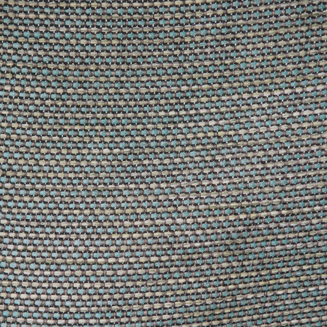 Dotty Corner Pouf in Turquoise - Swatch Detail