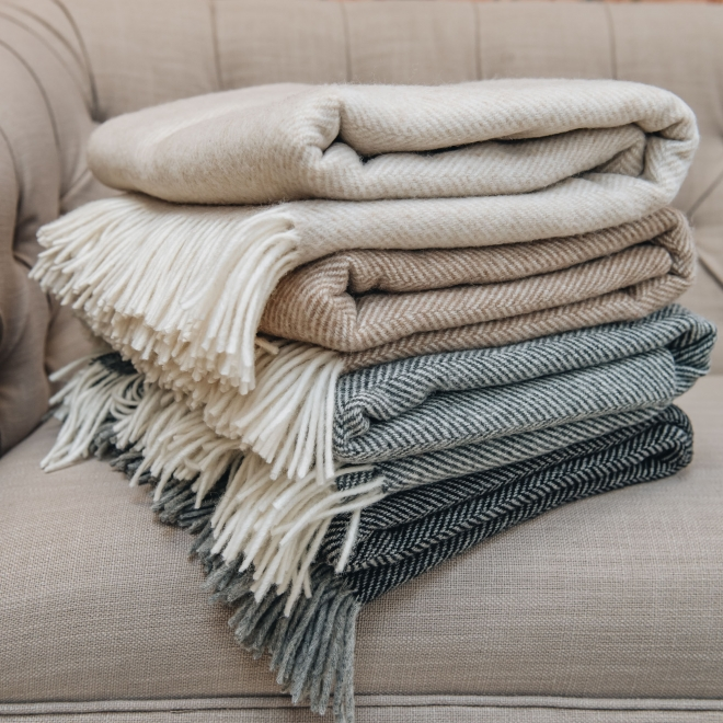 Lambswool Throws