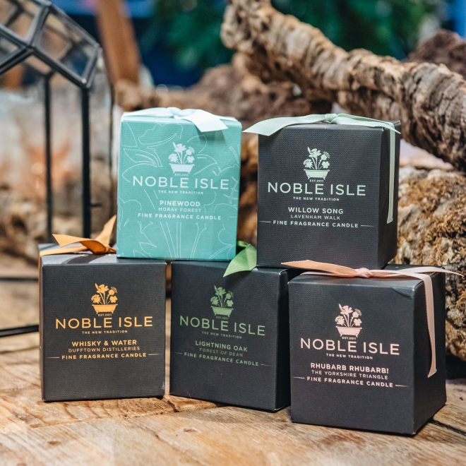 Noble Isle Candles from Burford Garden Company