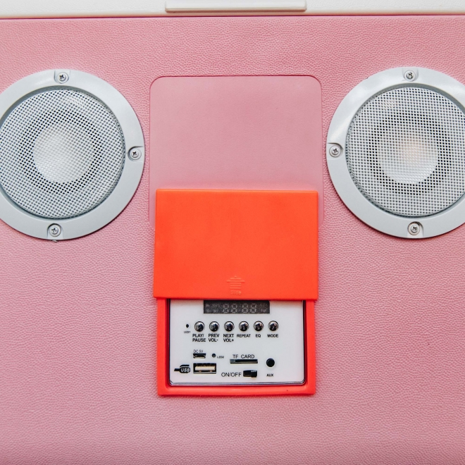 Cooler Box Sounds in Pink - Control Panel Detail