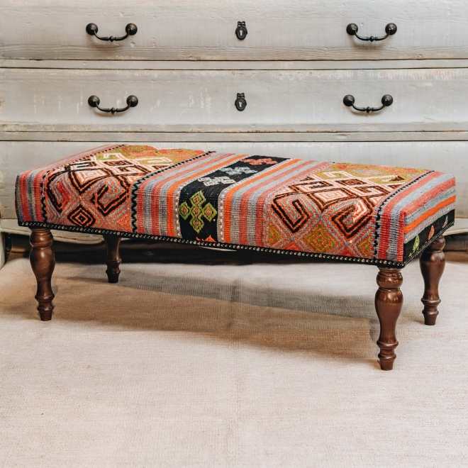 Kilim Bench Patterns and Stripes - Extra Large