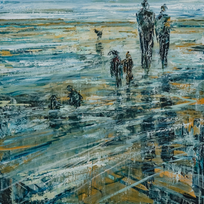Jane Vaux: Shoreline Walk