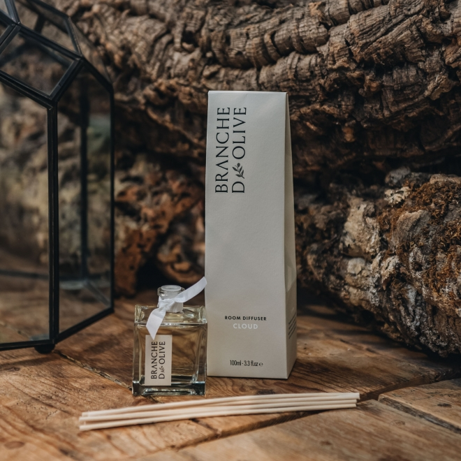 Branche D'Olive Diffusers 100ml - in Cloud