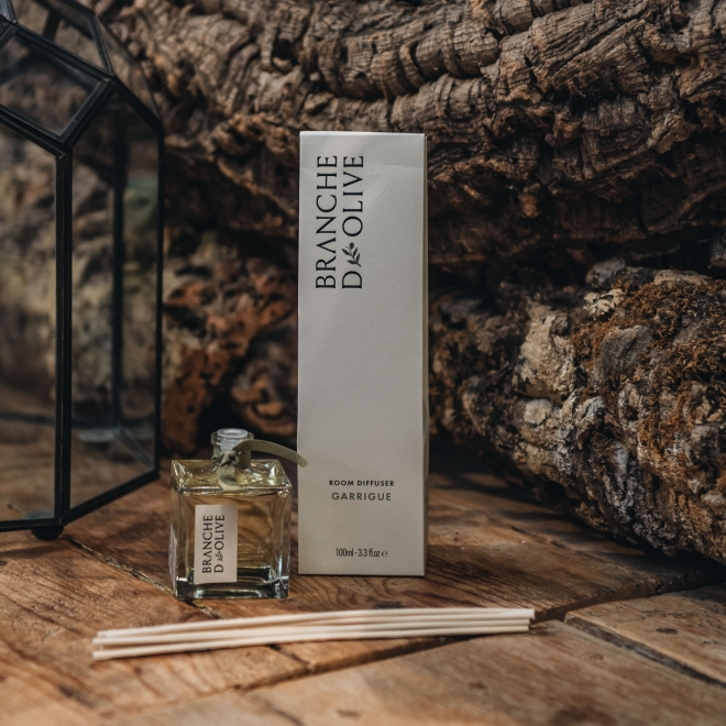 Branche D'Olive Diffusers 100ml - in Garrigue