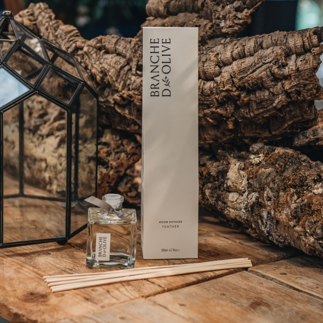 Branche D'Olive Diffusers 200ml - in Feather