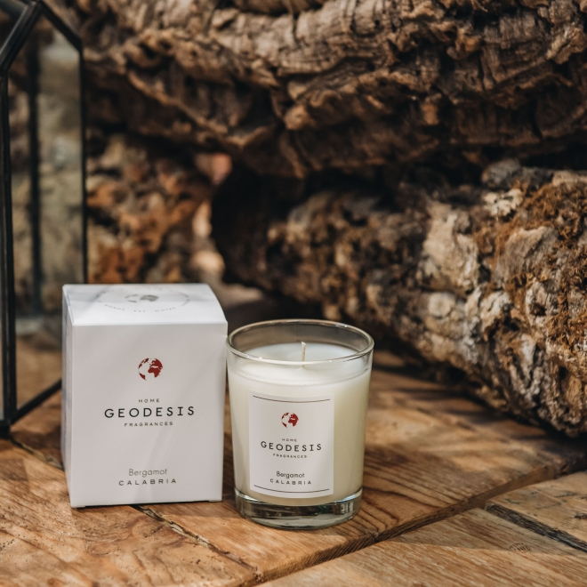 Geodesis Scented Candles 180g - in Bergamot