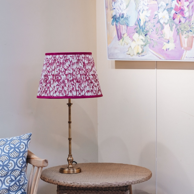 Chukka Table Lamp in Antiquated Brass