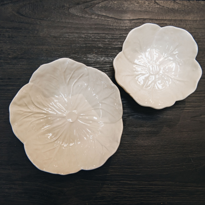 White Cabbage Bowls