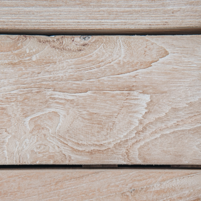Puzzle Coffee Table in Natural Grey Detail - Large