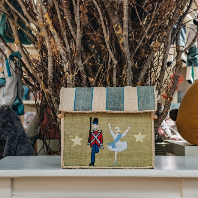 Tin Soldier Toy Basket - Small