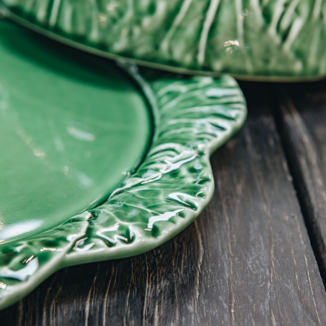 Cabbage Cheese Tray - Detail