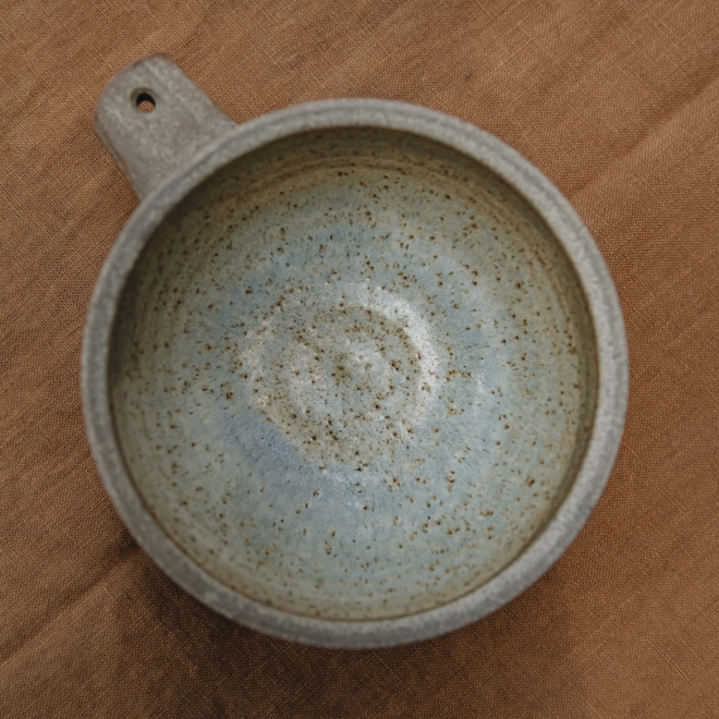 Bowl with Handle Detail