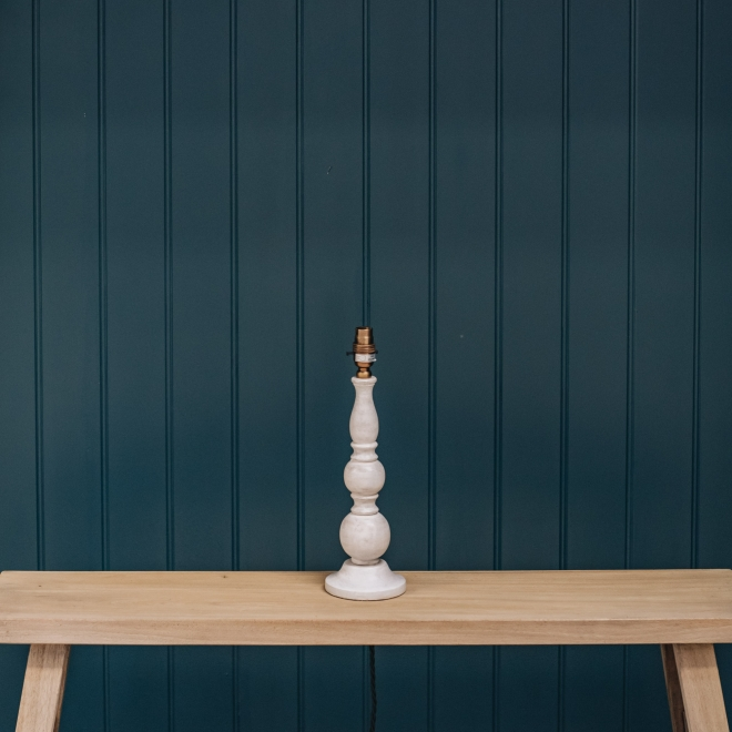 Otto Table Lamp in White Detail
