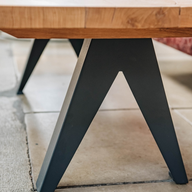 Book Style Coffee Table Detail