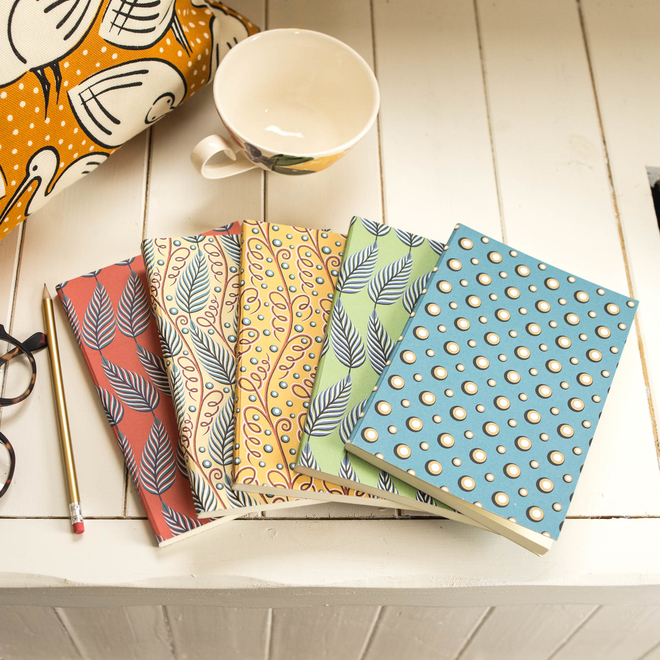 Cressida Bell for Burford - A5 Notebooks