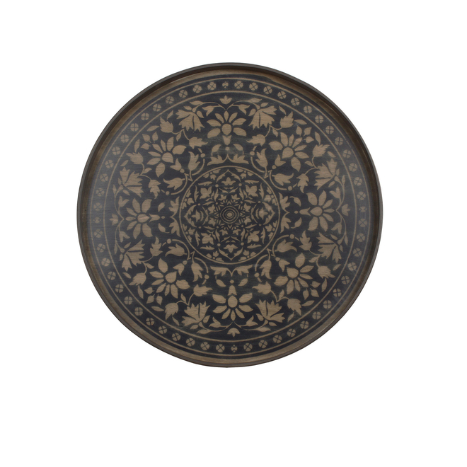 Black Marrakesch Driftwood Tray